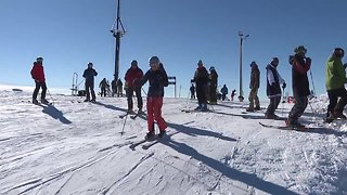 Skiers hit the slopes as Bogus Basin opens for their 76th season