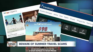 Beware of summer travel scams
