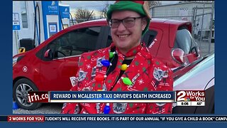 Reward in McAlester taxi driver's death increased