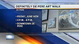 Local artist talks about Definitely De Pere Art Walk