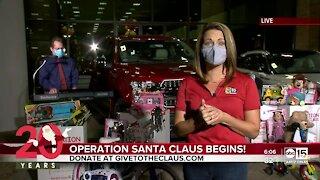 Operation Santa Claus is underway!