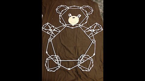 Hanger Teddy Bear