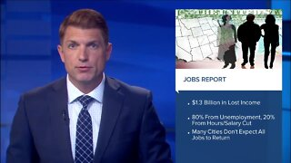 Jobs report: Americans have lost $1.3 Billion in income