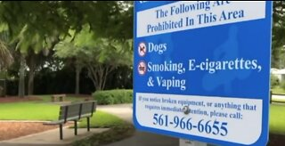 Palm Beach County commissioners ban vaping at public park playgrounds