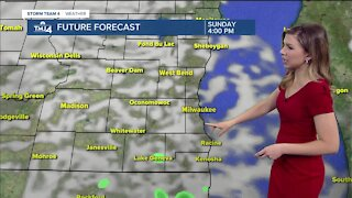 Sunny and mild Sunday, but snow is on the way