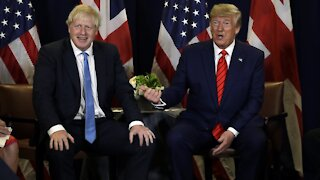 British Prime Minister Boris Johnson Pivots To Bond With Biden