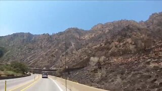 I-70 back open, some evacuation notices lifted for residents around Grizzly Creek Fire