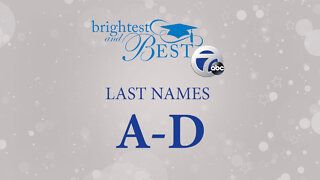 Brightest and Best – Last names A-D