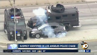Suspect identified in Los Angeles Police Chase