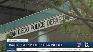 Mayor unveils San Diego police reform