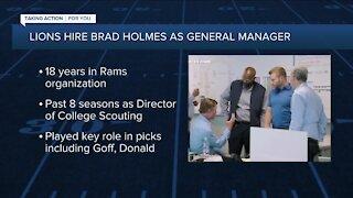 Sheila Ford Hamp explains why Lions hired Brad Holmes as GM