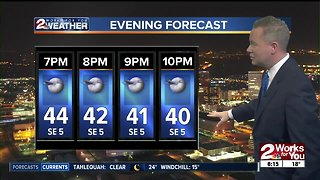 Chilly Thursday morning forecast