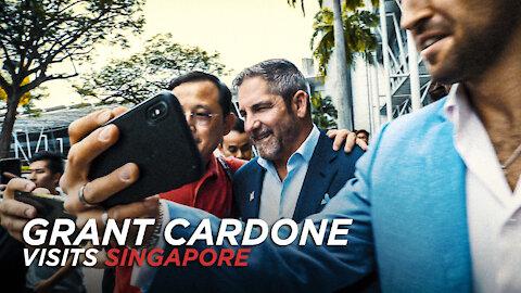 Grant Cardone visits Singapore