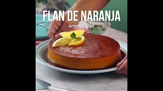Easy Orange Flan