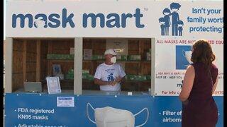 Kiosk sells FDA-certified KN95 face masks in Las Vegas