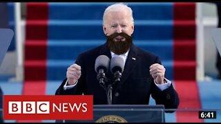 President Biden grow beard looking amazing