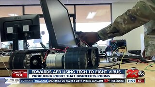 Edwards Air Force Base working on new technology to fight virus