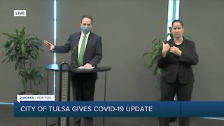 City of Tulsa gives COVID-19 update