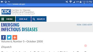 CDC admits DTaP vaccine spreads disease