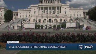 COVID relief bill includes streaming legislation