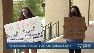Hillsborough School Board delays start of school
