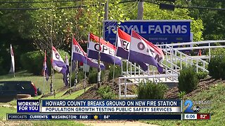 Howard County breaks ground on new fire station