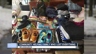 Community helping family who Lost everything