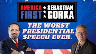 The worst presidential speech ever. Victor Davis Hanson with Sebastian Gorka on AMERICA First
