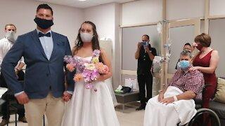 Wedding at a hospital