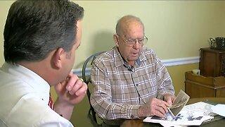 WWII veteran celebrates birthday during pandemic
