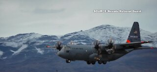 Nevada National Guard soldiers return from Washington D.C.