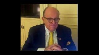 Rudy Giuliani Tests Positive For COVID 19