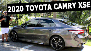 2020 Toyota Camry XSE review (4 cyl)