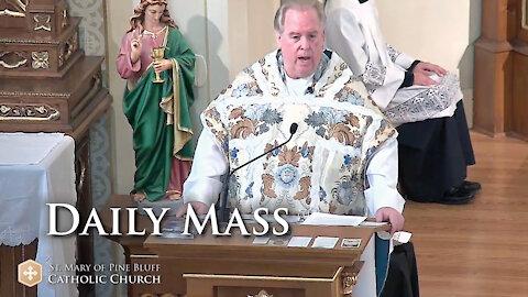 Fr. Richard Heilman's Sermon for Monday Oct. 4, 2021