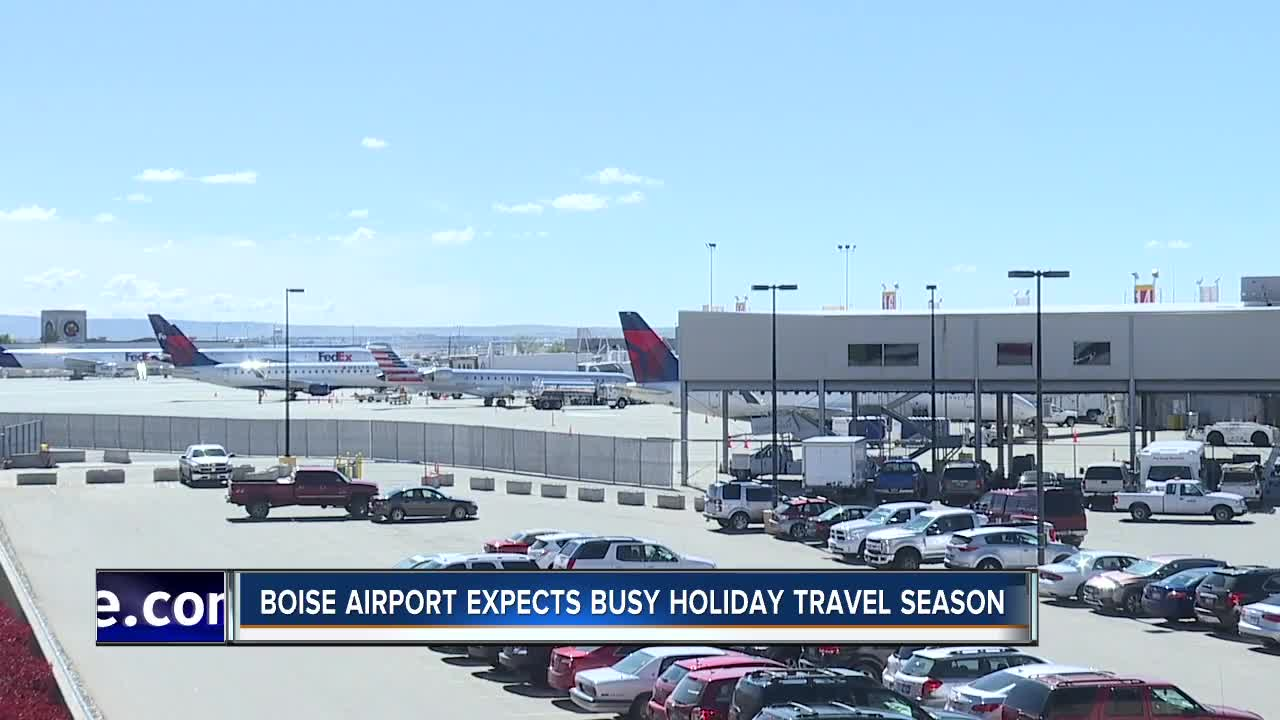 Boise Airport expects busy Thanksgiving travel season
