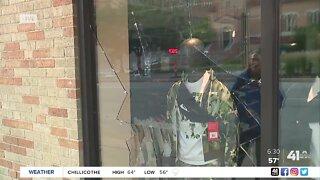 Protests, damage, pepper spray, arrests