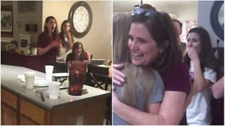 Emotional reaction to pregnant family member