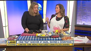 Crab Trap Takeover at Hazel, Ravines and Downtown