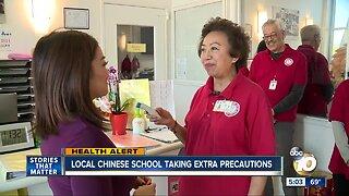 Local Chinese School taking extra precautions against Coronavirus