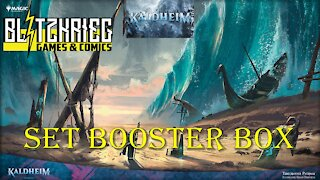 Magic Kaldheim Set Booster Box Opening by BH