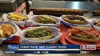 CHEAP EAT$: B&B CLASSIC DOGS