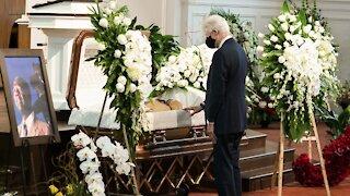 Atlanta Funeral Service Held For Hank Aaron