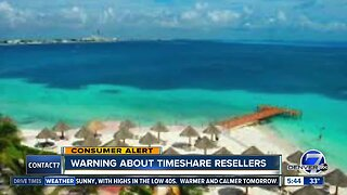Warning about timeshare resellers