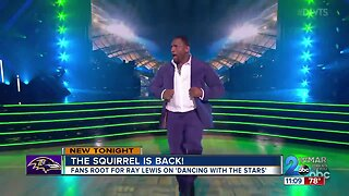 """Fans cheer for former Raven Ray Lewis on """"Dancing With The Stars"""""""