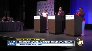 San Diego Democratic mayoral candidates square off at debate