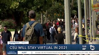 CSU system will stay virtual in Spring 2021