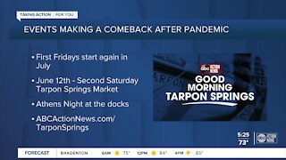Tarpon Springs events are making a comeback