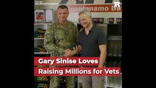 Gary Sinise Loves Raising Millions for Veterans