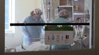 ICU Health Care Workers Describe 'Overwhelming' Stress of COVID Care