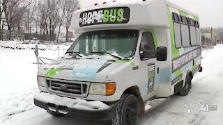 'Hope Bus' helps people experiencing homelessness with transportation
